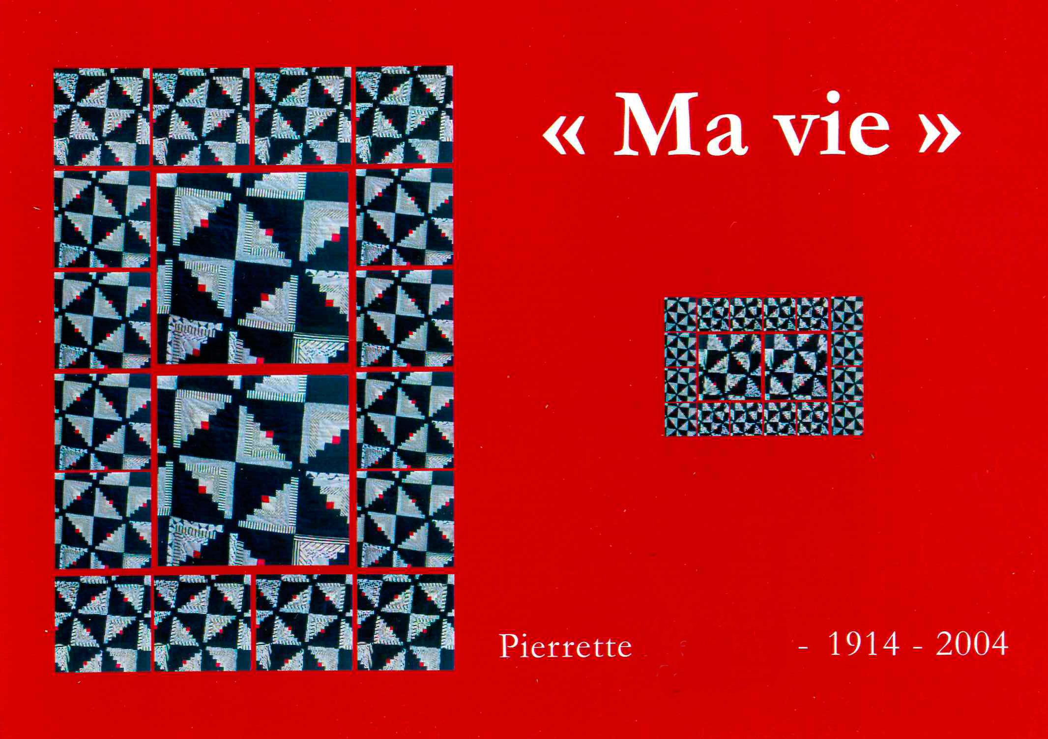Biographie familiale de Pierrette M.